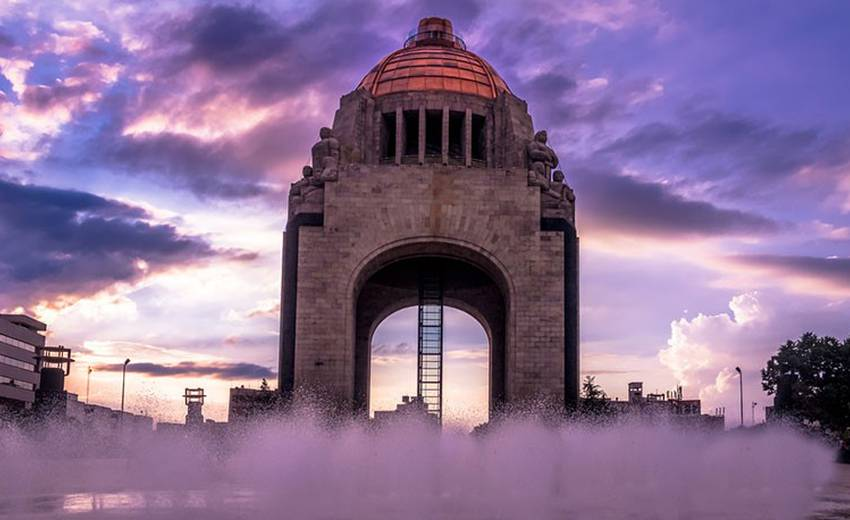 The Revolution monument, is an unmissable place in Mexico City Geneve Mexico City Hotel Mexico City