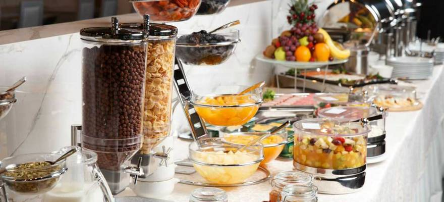 Special buffet breakfast geneve mexico city hotel