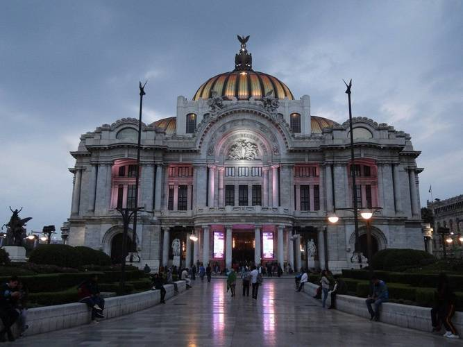Bellas artes palace geneve mexico city hotel